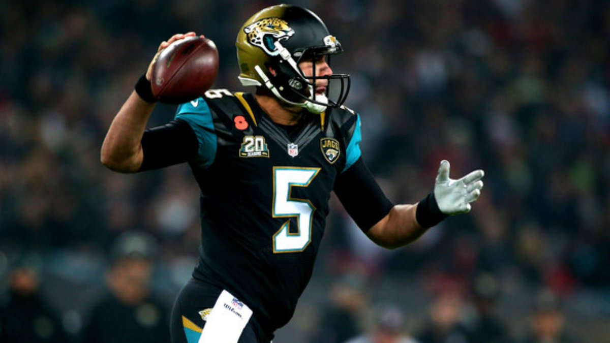 Case Keenum Nick Foles and Blake Bortles are still alive Just like everyone expected