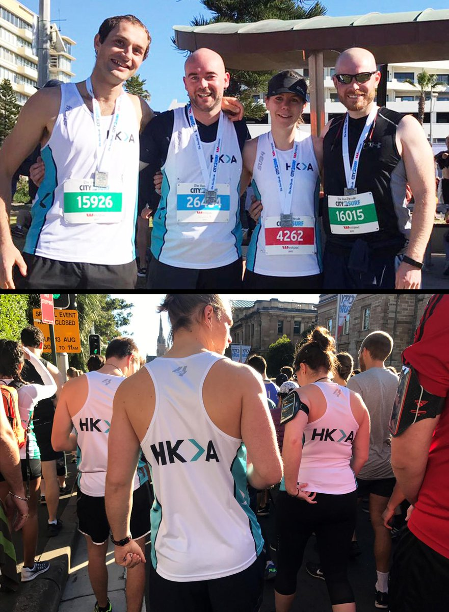 Well done team HKA for completing 14km f...