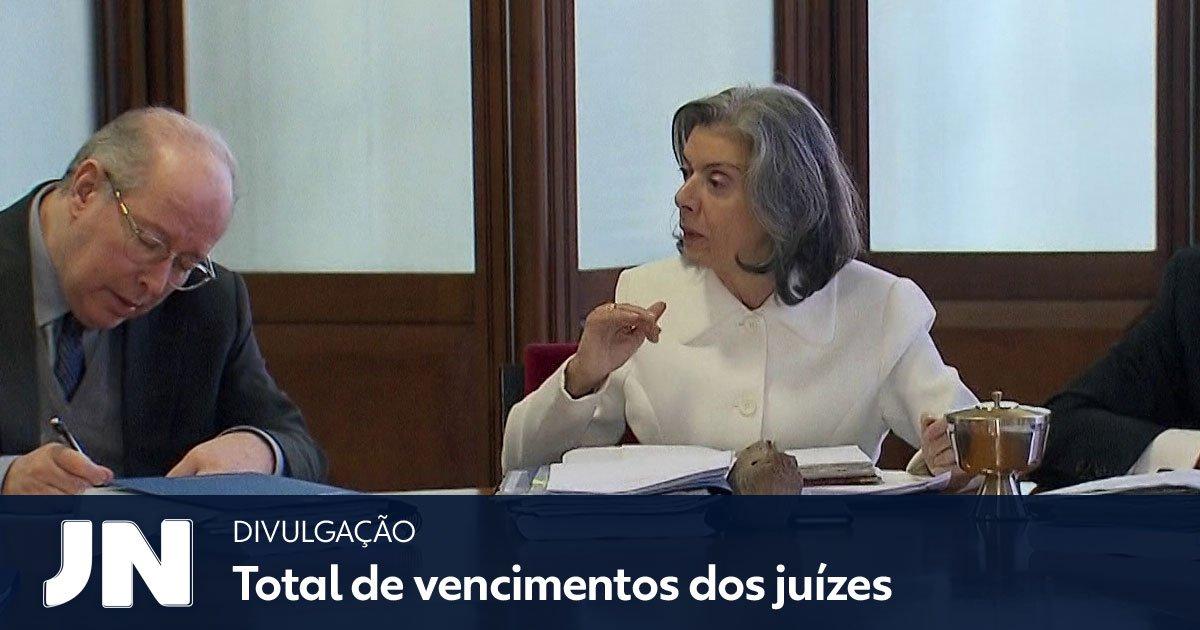 Cármen Lúcia determina que todos tribunais do país passem a informar salários pagos aos juízes de forma detalhada: https://t.co/B0MTS5Mtm4