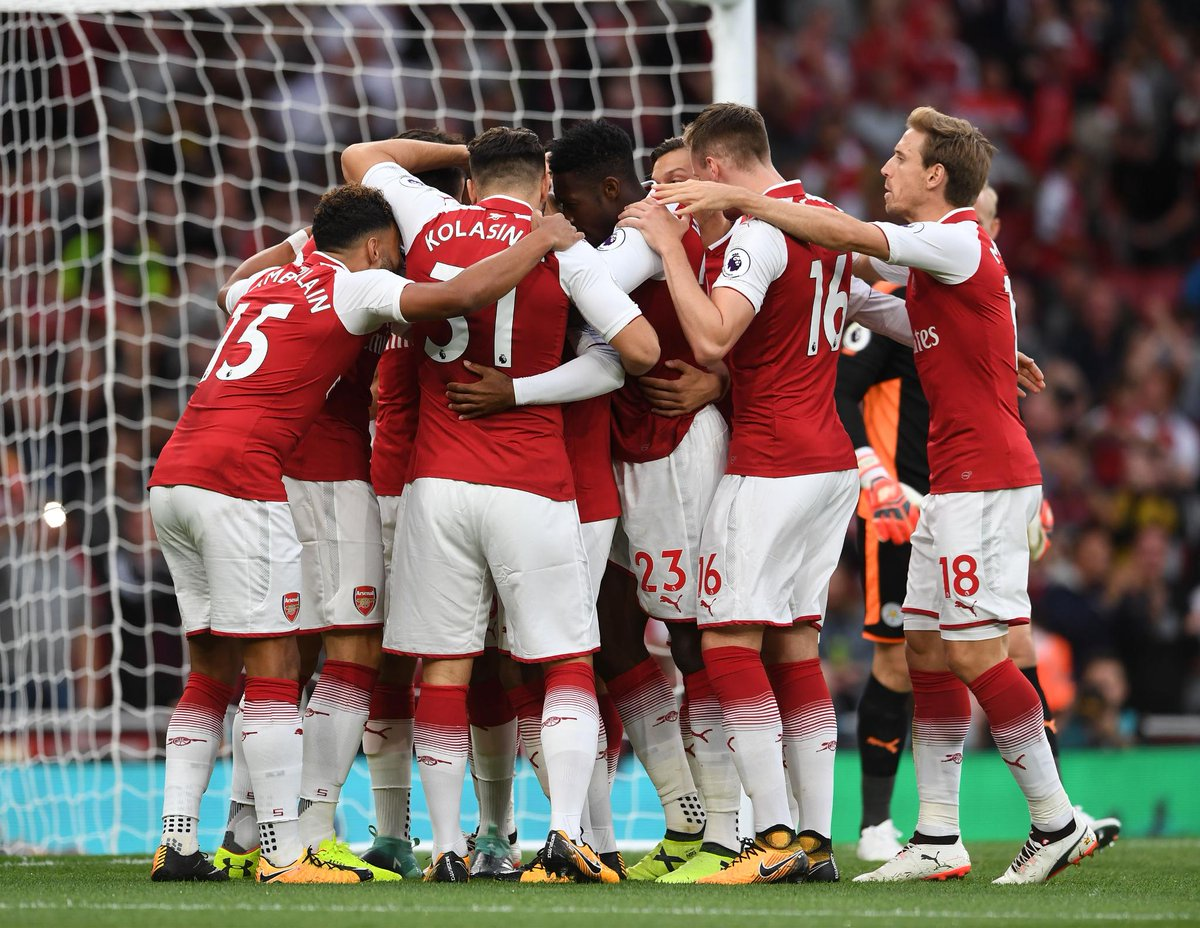 Arsenal will be looking to win their opening  games in a #PL season for the first time since 2009/10  #STKARS<br>http://pic.twitter.com/0EGtlCI1V0