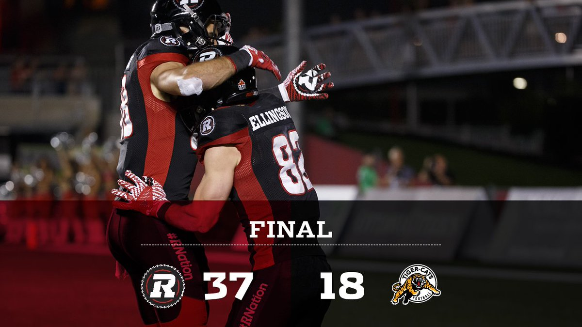@RyanLindley14 @JakeHarty Making moves.  #RNation #CFLGameDay https://...