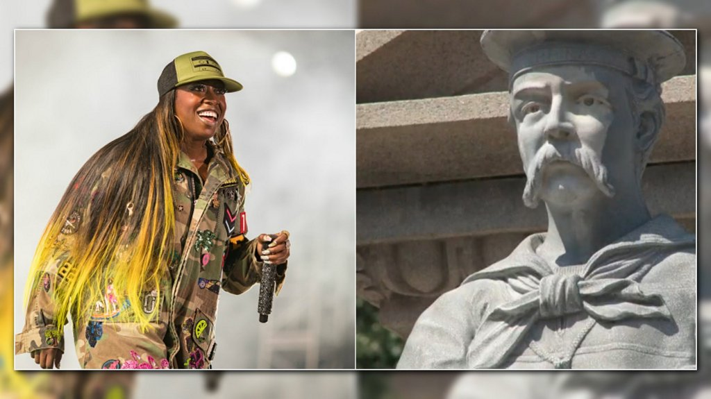Petition calls for Confederate monument to be replaced with statue of Missy Elliott https://t.co/zLaJEOJvbR