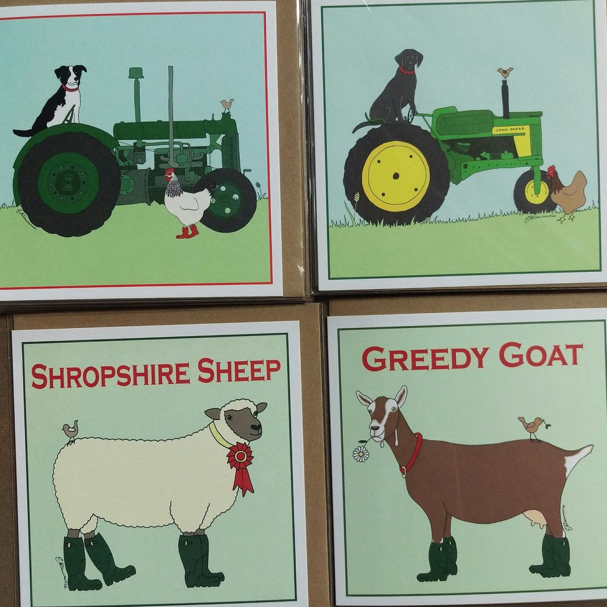 I&#39;ll be at Minsterley Show today with lots of goodies including these cards. #loveShropshire #Shrewsbury #Shropshire #today @WhatsOnShrops<br>http://pic.twitter.com/0CeMNA9aHT