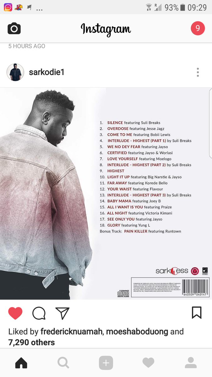 @sarkodie Highest Album out September 8... Here is what to expect https://t.co/P1LVLfrSft