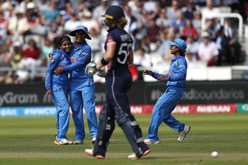 #team #work always #pays #off..! @BCCIWomen @cricketworldcup<br>http://pic.twitter.com/hgzYIVfHiJ