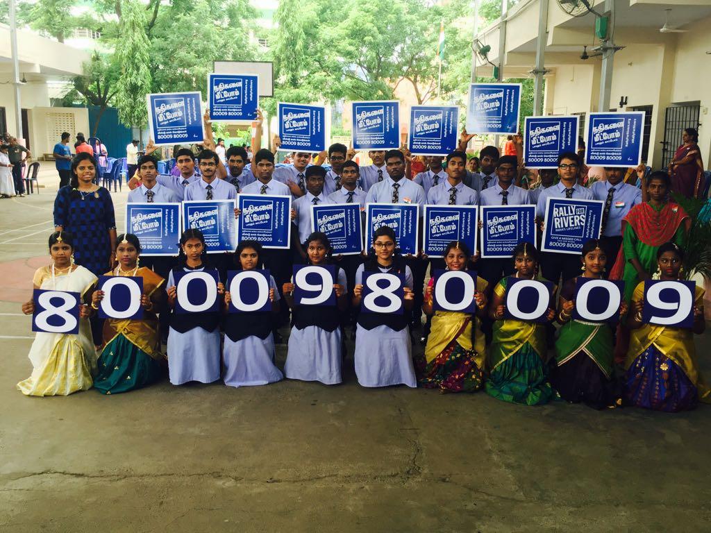 Suhasini Maniratnam On Twitter I Support Rally For Riversyou