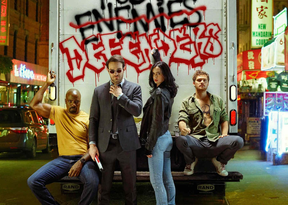 From GeekFeed! @NightRTs @DNR_CREW: Marvel's Defenders is an Aesthetically Pleasing Painting  http:// twib.in/l/8XxrA6XR7rrX  &nbsp;   #geek #blog <br>http://pic.twitter.com/G1B7SN8E1M