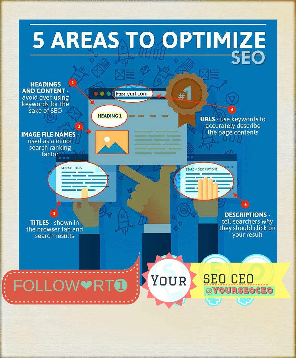 Areas to #Optimize your #SEO #Strategy  #Infographics #Keywords #DigitalMarketing #SMM #Mpgvip #defstar5 #sm17 #al #IoT #CX #Startups #data<br>http://pic.twitter.com/miiTktXW1W