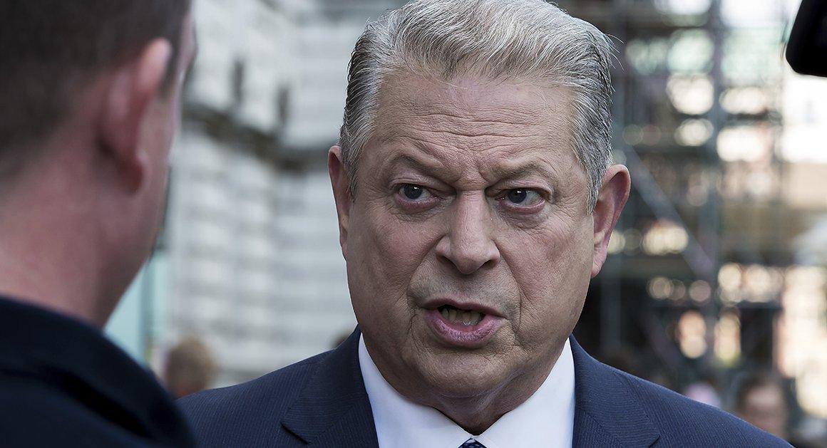 Al Gore says it's time for President Donald Trump to leave office https://t.co/NJLFeB14b6 via @dsamuelsohn