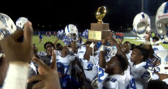 Jefferson Davis County wins first game in program history https://t.co/P2yHbFMUW8
