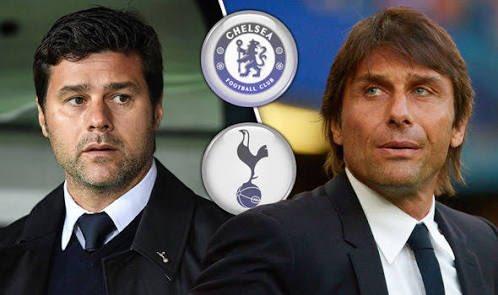Domingo, 11h30, campeão e vice da @premierleague frente a frente em @wembleystadium É @SpursOfficial x @ChelseaFC Comigo e @pandradeespn