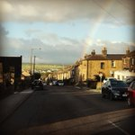 There's a pot of gold somewhere in Mapplewell this morning.... #rainbow #leprechaun #potofgold #barnsleyisbrill