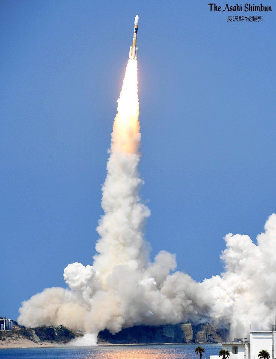 https://t.co/vhtM1oVimH 測位衛星「#みちびき3号」を載せた #H2Aロケット 35号機が鹿児島県の種子島宇宙センター...