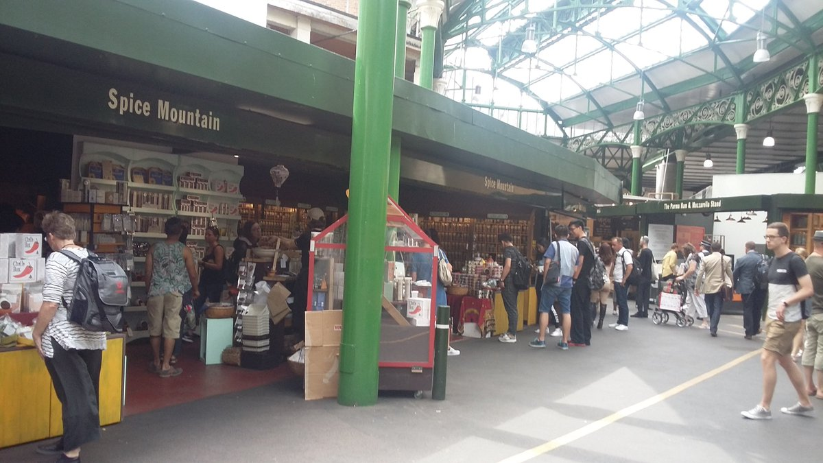 We&#39;re open 8-5 @boroughmarket offering the very best in #spice including #curries #chillies and our hand made #blends - come and explore!<br>http://pic.twitter.com/hzDXnxgTvJ