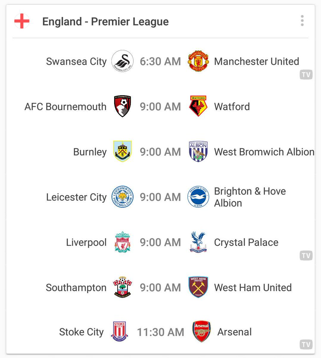 THIS  IS  WHAT  A  SATURDAY  SHOULD  LOOK  LIKE!   #PremierLeague #Bundesliga #Ligue1 #LaLiga<br>http://pic.twitter.com/Age91wJG7v