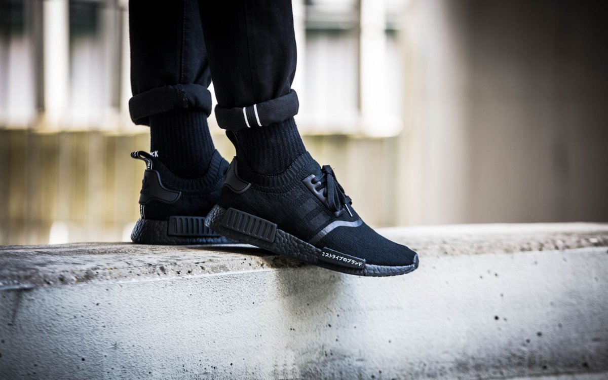 adidas nmd mens white adidas nmd r1 primeknit japan triple black restock
