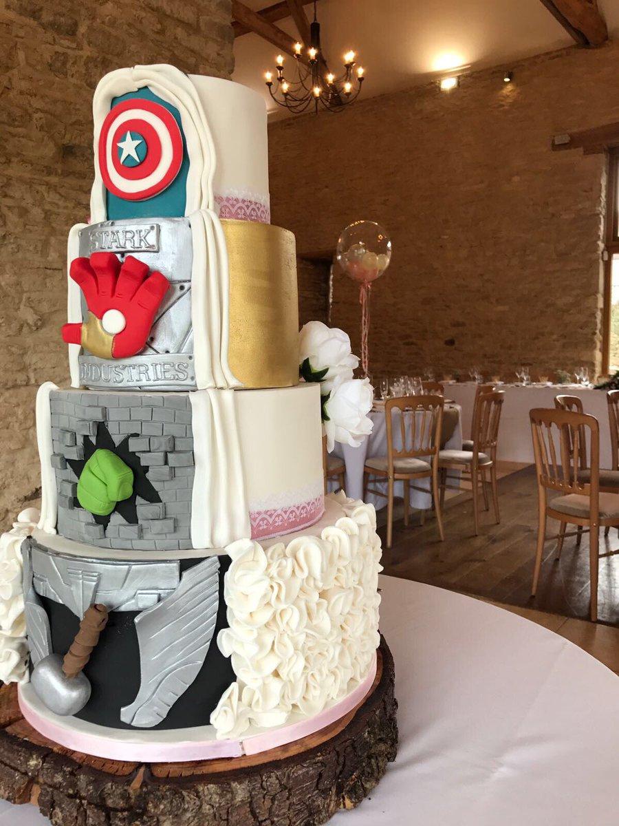 Mcbaile Catering On Twitter Fantastic Marvel Wedding Cake