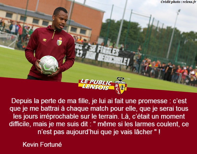 #DominosLigue2 #RCLens #KévinFortuné &quot; Respect ! &quot;<br>http://pic.twitter.com/JDe6aMQiXN
