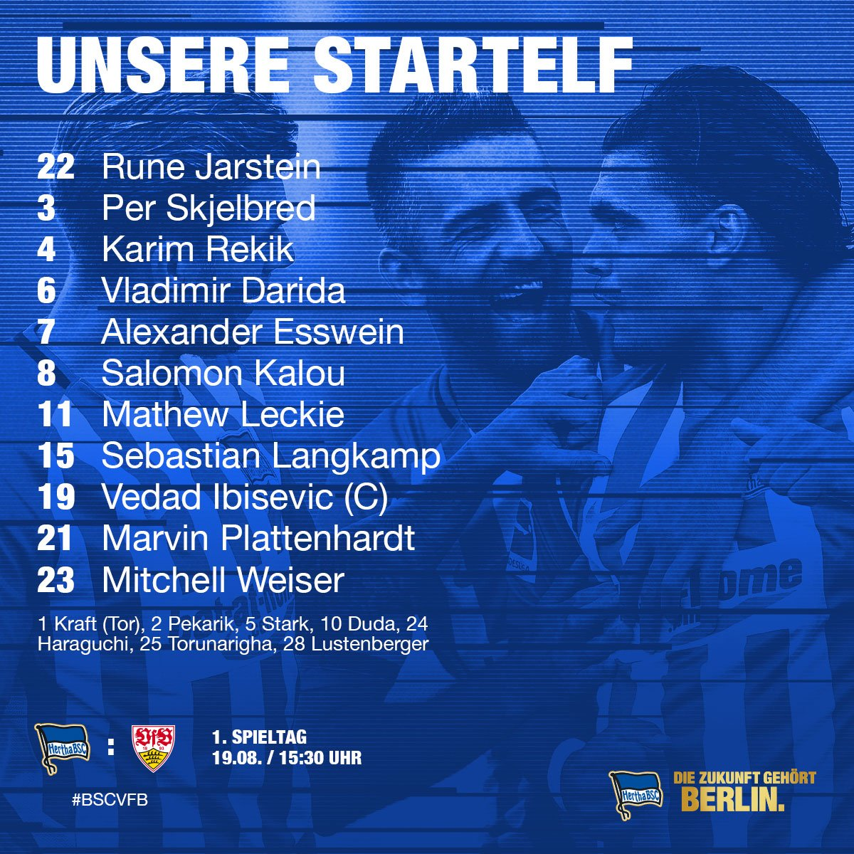 Unsere Jungs für den Bundesligastart und den Sprung auf Platz eins 😜 #...