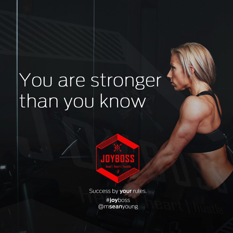 You are stronger than you know. #YYC #coach #joyboss #entrepreneurship #startup #entrepreneurs #startups #success<br>http://pic.twitter.com/rhMsyqvwRR