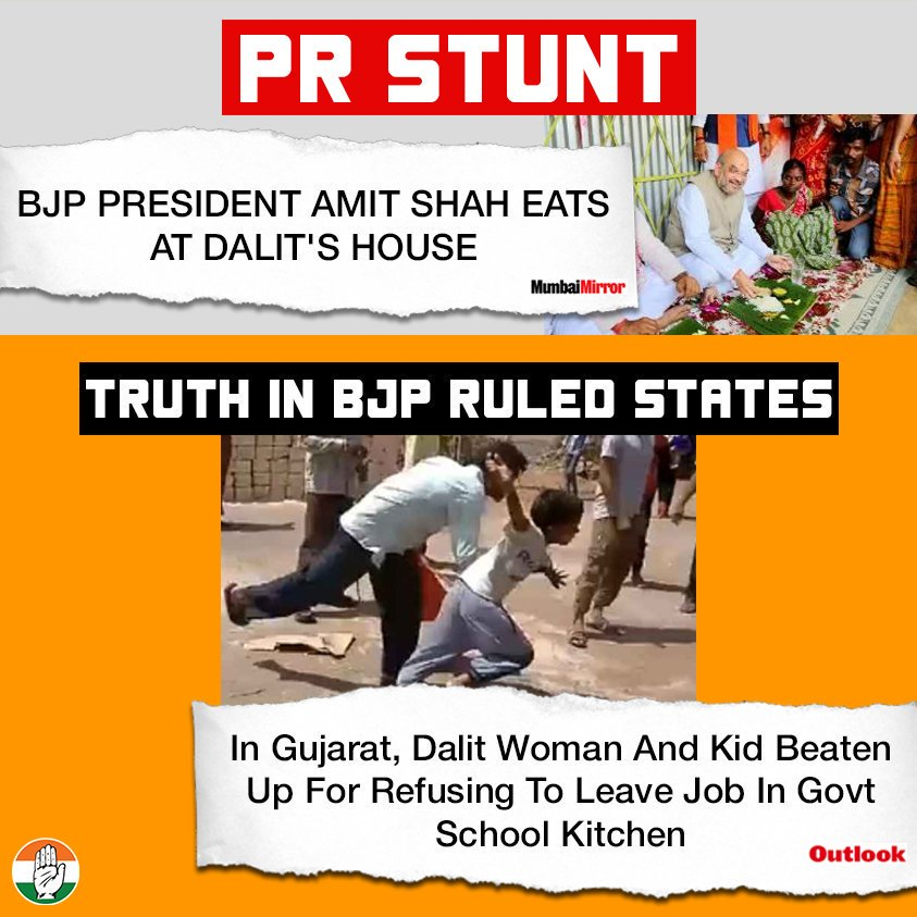 No photo-op can change the truth of BJP&#39;s politics. The reality of #BJP ruled states laid bare in Gujarat.  #BJPfailedInGujarat<br>http://pic.twitter.com/BgTCqOcT0u