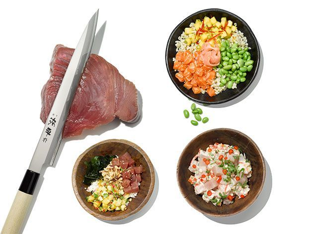 The health snob's guide to Hawaiian raw fish - introducing Poke! https...