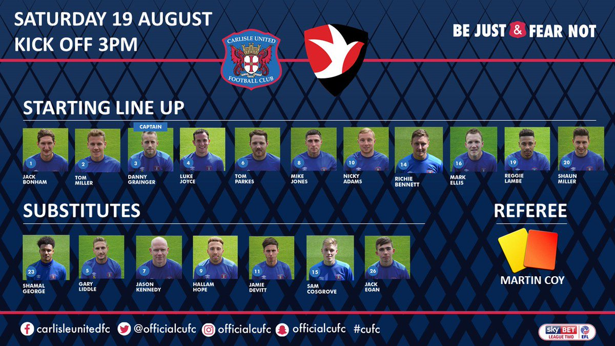 Your team today #cufc https://t.co/Xi8AbUCMAU