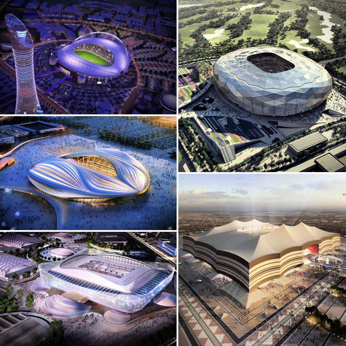 غداً الإعلان عن تصميم سادس استادات كأس العالم #قطر ٢٠٢٢ الساعة ٢ الظهر بتوقيت الدوحة على حساب @roadto2022 https://t.co/dwPlQhTR25