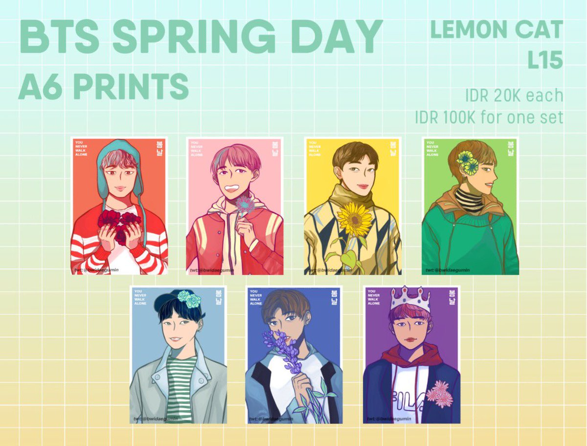 BTS #봄날 prints are ready u can get them at our booth on day 02!  #comifuro #comifuro9 #cf9 <br>http://pic.twitter.com/JHxNqXBFWc