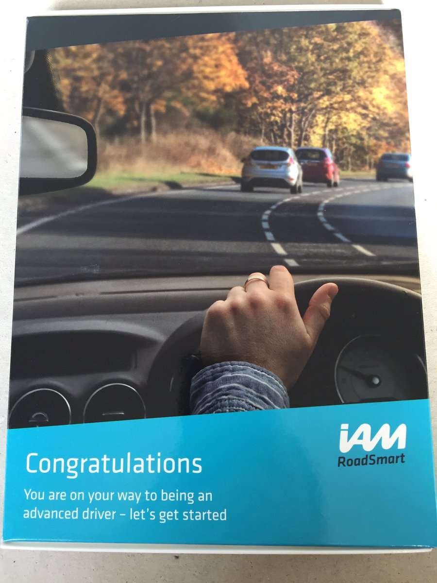 My advanced driver log book arrived in the post today @IAMRoadSmart @MKAM_IAM #driving #advance #defensive #cars #courses #safety #road<br>http://pic.twitter.com/9WOvxWjrES
