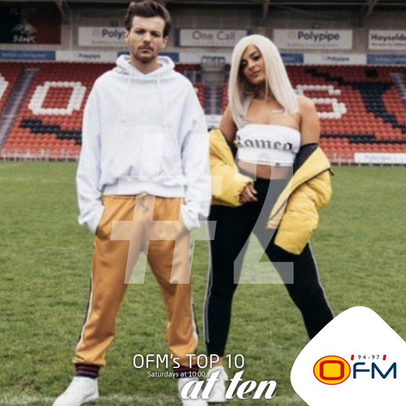 Now Playing #2 on the @OFM9497 Top10@10 @Louis_Tomlinson  @BebeRexha & @DigiFarmAnimals with #BackToYou https://t.co/nXNlJghgO1