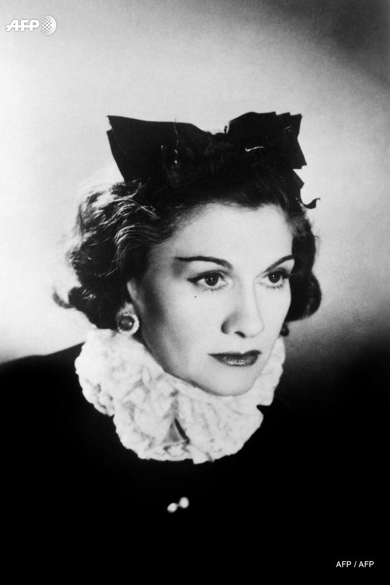 #OnThisDay in 1883, influential fashion designer Gabrielle 'Coco' Chanel was born in the French town of Saumur