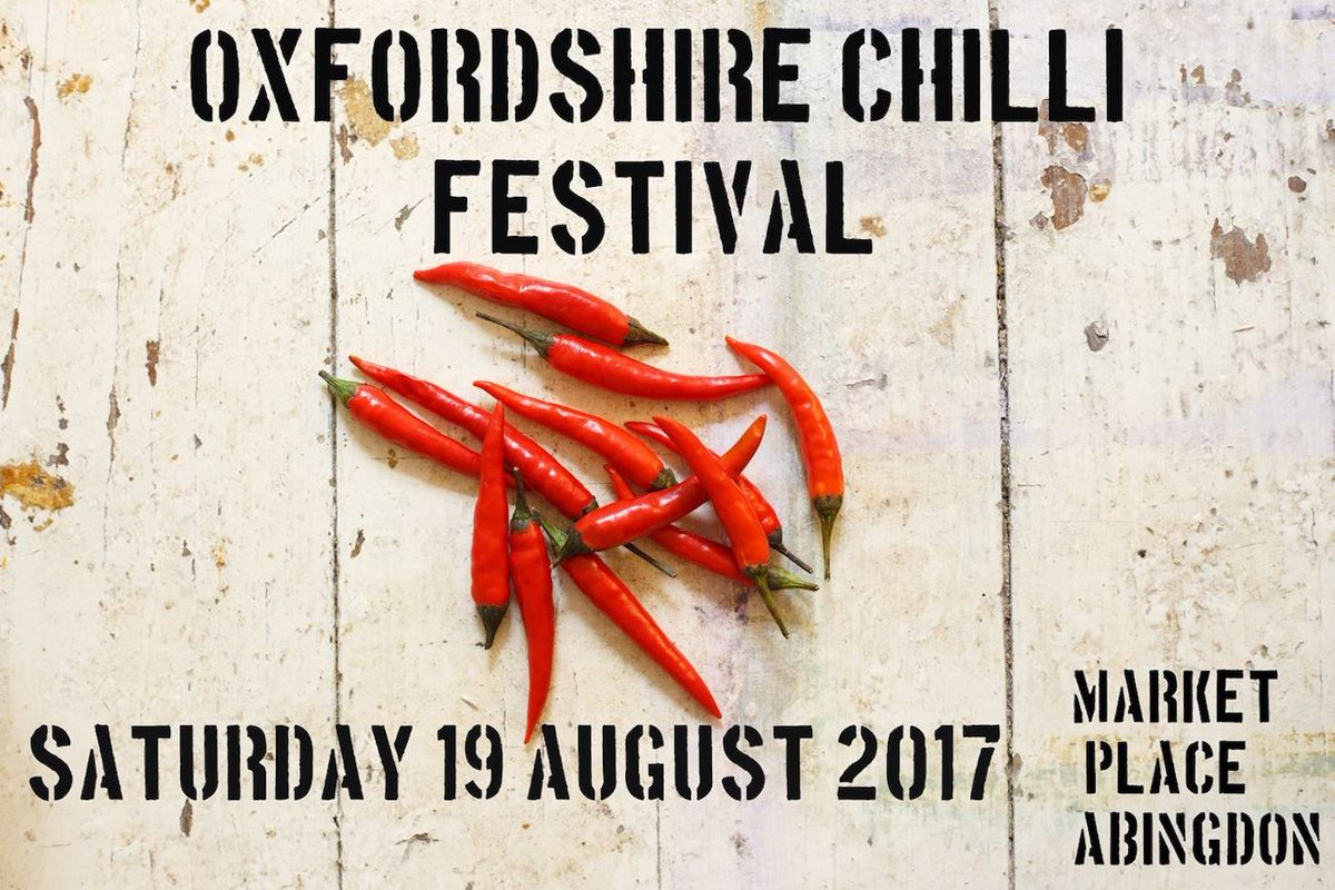 Pop down for a #shop at @BuryStAbingdon #Abingdon today and you can also catch Oxfordshire Chilli Festival 2017!  http:// bit.ly/2oCUg38  &nbsp;  <br>http://pic.twitter.com/d87fesZFBG