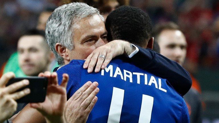 'I have faith in Anthony.' Jose Mourinho tips Anthony Martial to impro...