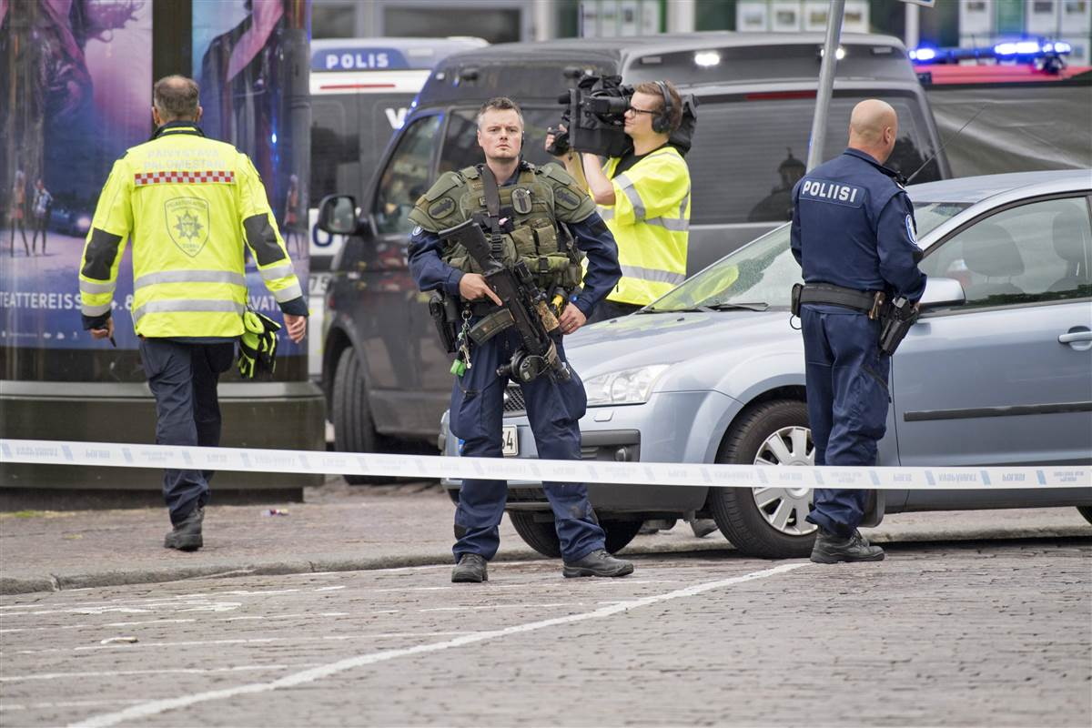 Deadly Stabbing Rampage Turku Was Possible Terrorism Finland Police T