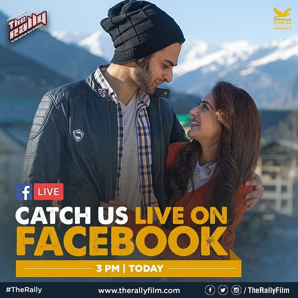 Catch us live on Facebook at @therallyfilm Facebook&#39;s page.  #Facebooklive #Facebook #Movie #Promotion #TheRally #Pune #Actor<br>http://pic.twitter.com/tTmotAlJRs
