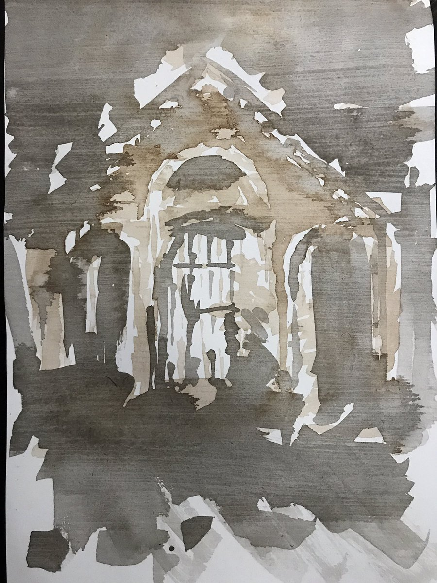Sketch using Wallace Seymour inks of Manchester City #Sketching #InkMaster #Peintures #kunst #Urban #architecture<br>http://pic.twitter.com/wPMyIXeD1V