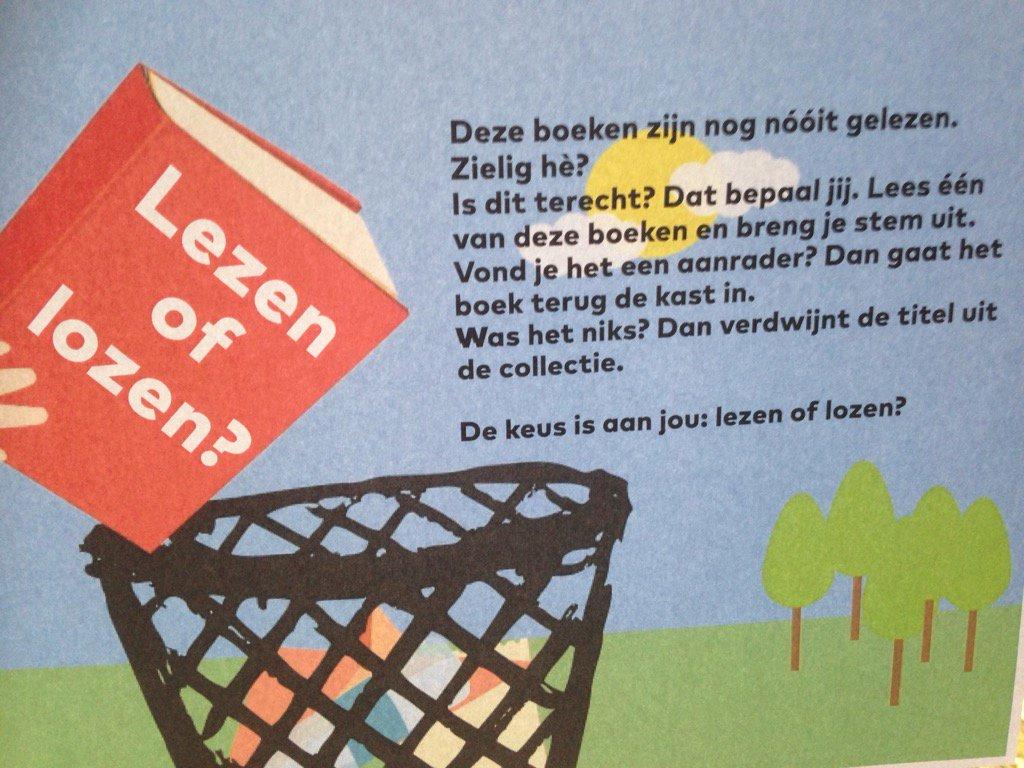 Leuke actie in de Stadsbibliotheek Dordrecht https://t.co/Y7klkA30NW