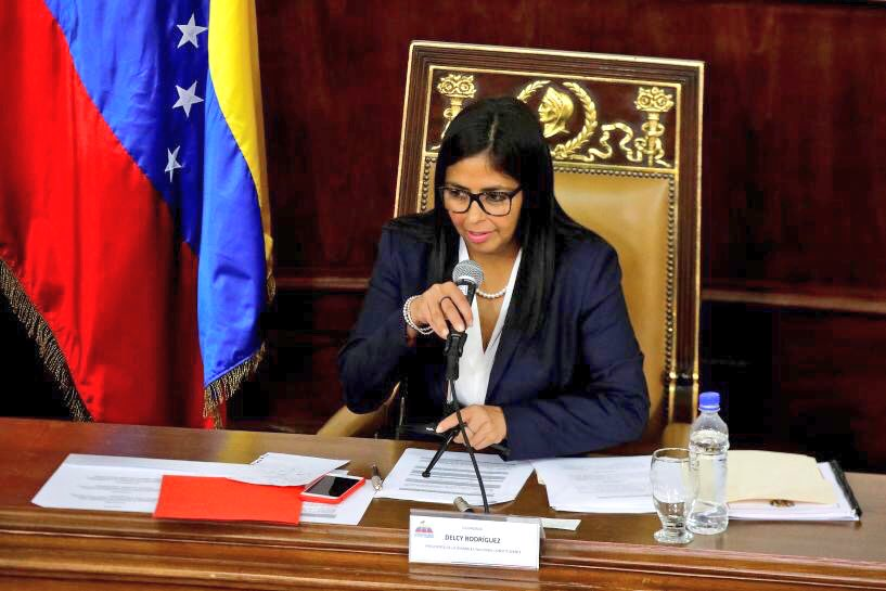 2/4 A blatant attack by #Venezuela Govt on a legitimate democratic institution. Will of the Venezuelan people must be respected. <br>http://pic.twitter.com/t4vXnKe5L9