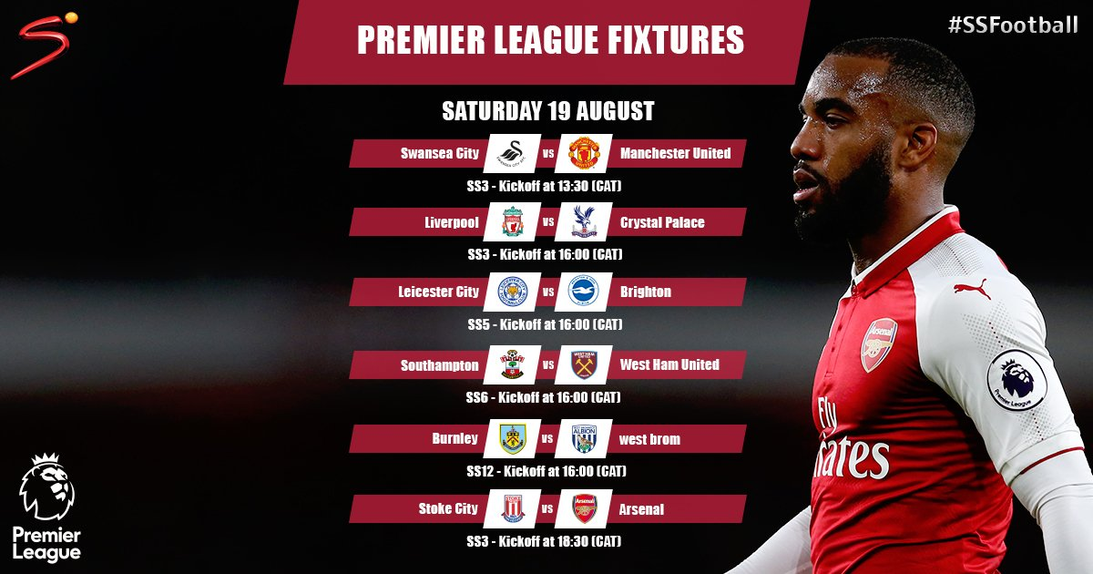 Busy Saturday on SuperSport as we bring you SIX LIVE games from the @premierleague. #PL <br>http://pic.twitter.com/SuguPiO6sc