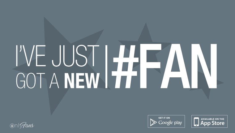I've just got a new #fan! Get access to my unseen and exclusive conten...