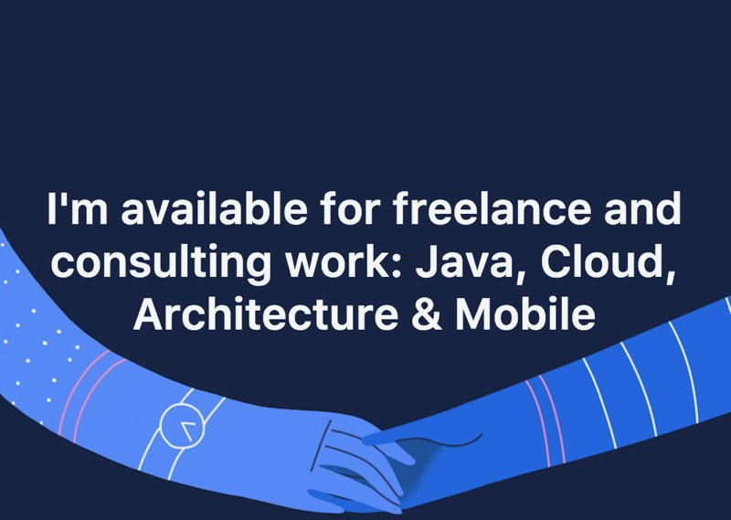Available for #Freelance #Consulting #Work in #Java #Cloud #Architecture #Mobile #London get in touch now @armelnene   @Kitronik   #contract<br>http://pic.twitter.com/R2hYXfnwDj