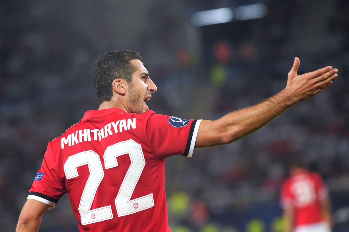 Henrikh Mkhitaryan created 5 chances in the Premier League opening wee...