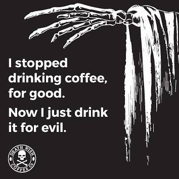 Good Morning, Horror Fans! #horror #coffee<br>http://pic.twitter.com/xYrVQ06xId