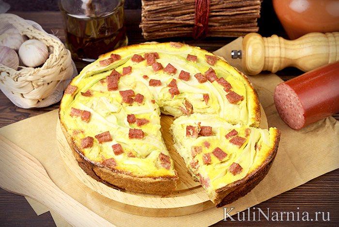 Рецепт пирог с картошкой