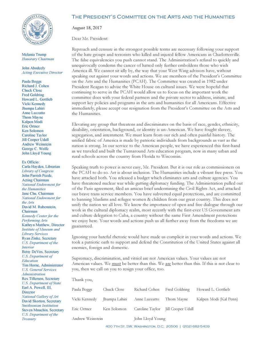Shit Academics Say On Twitter Presidents Committee On The Arts