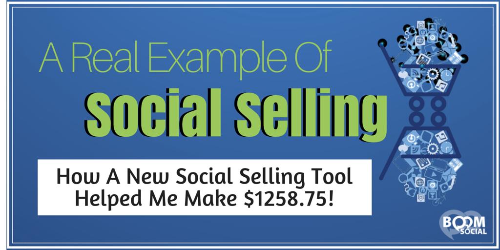 A Real Example of Social Selling. https://t.co/rPvVjC2q15 via kim gars...