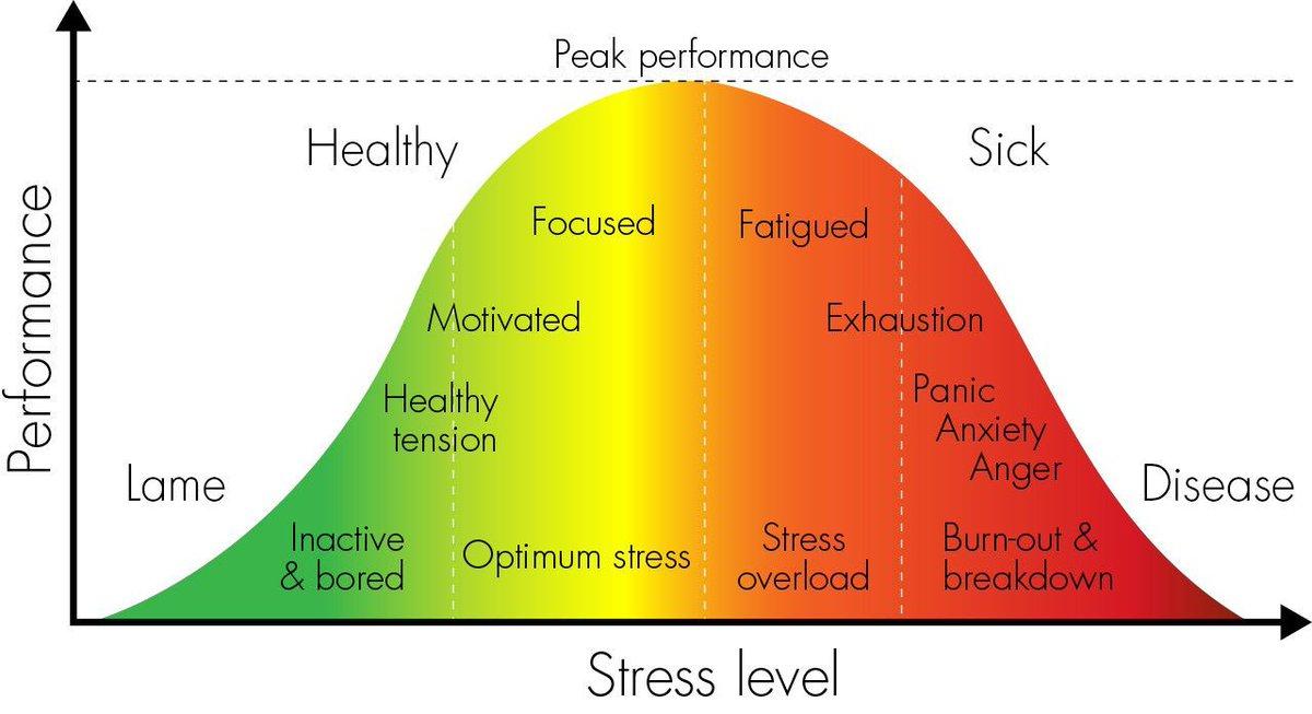 The Yerkes-Dodson Law - the relationship between stress and high performance:  http:// bit.ly/2vNHVe6  &nbsp;   @emac100 @EmMcgoo @drdmelvin #HR <br>http://pic.twitter.com/M9PjqzCHTf