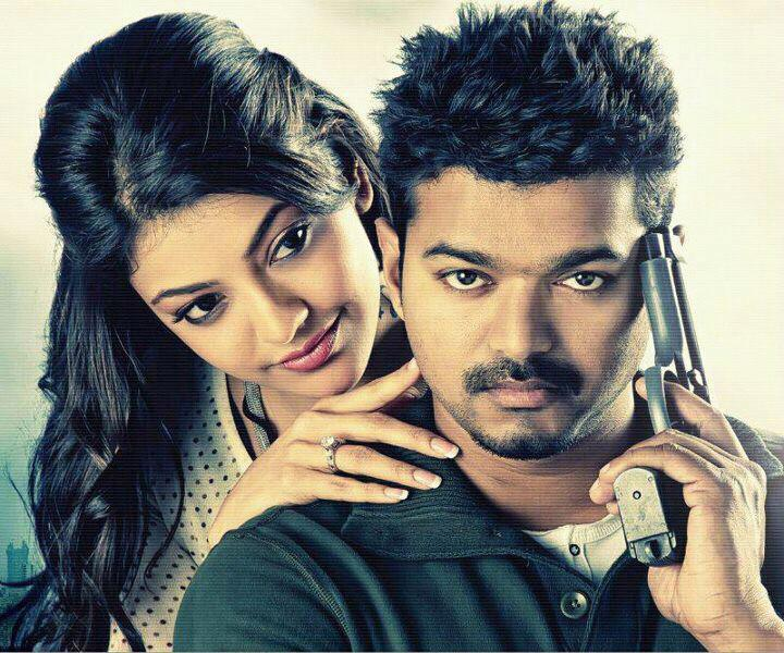 The way She looks at him  @actorvijay @MsKajalAggarwal - The Eternal Pair !  #Thuppakki #Jilla #Mersal   #MACHO <br>http://pic.twitter.com/IPvEosrXwF