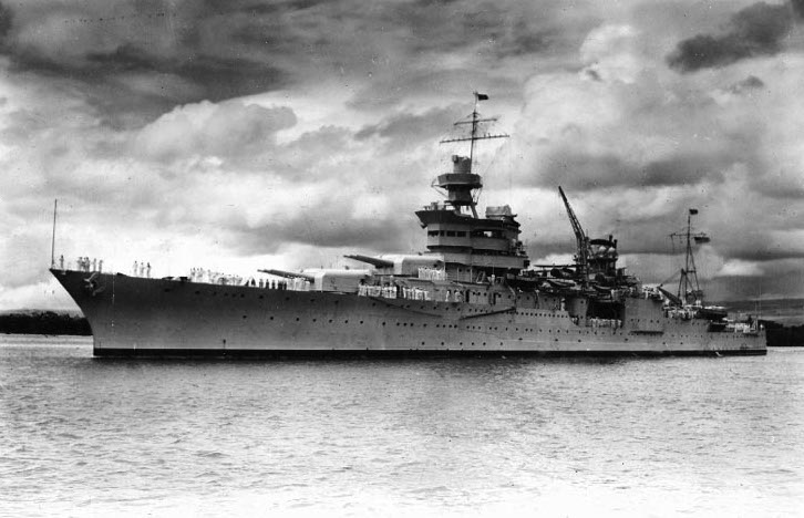 JUST IN: Lost USS Indianapolis from World War II found today in the Philippine Sea https://t.co/y8UcpJ8zE5
